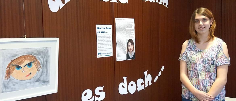 Ausstellung Volksbank SRH Stephen-Hawking-Schule