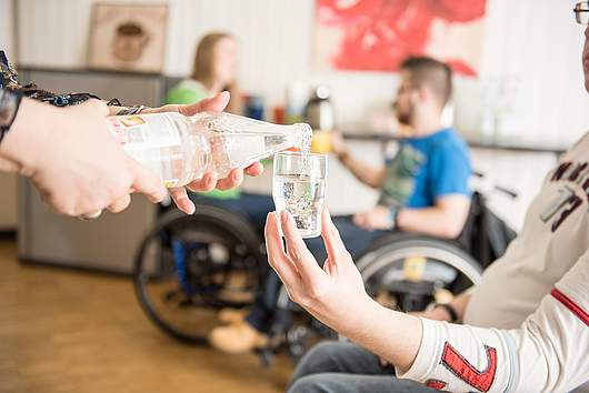 Berufseinstiegsjahr: Projekt Café Olé - SRH Stephen-Hawking-Schule