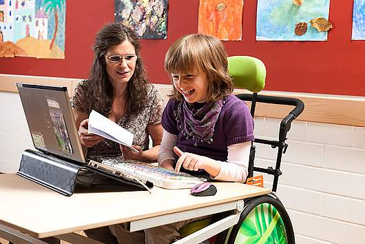 Beratungsstelle für Computer- und Kommunikationshilfen - SRH Stephen-Hawking-Schule