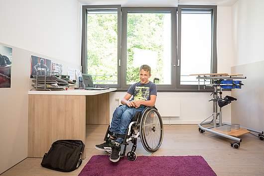 Leben im Internat: Einzelzimmer - SRH Stephen-Hawking-Schule