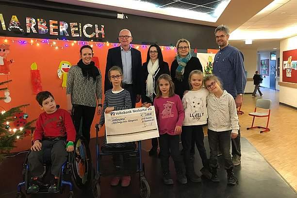 News 2017 Spende zu Weihnachten - SRH Stephen-Hawking-Schule