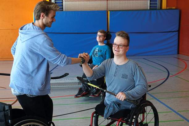 Rollstuhlhockey SRH Stephen-Hawking-Schule