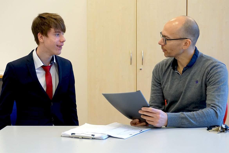 Bewerbungstraining SRH Stephen-Hawking-Schule