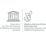 Logo UNESCO Projektschulen - SRH Stephen-Hawking-Schule