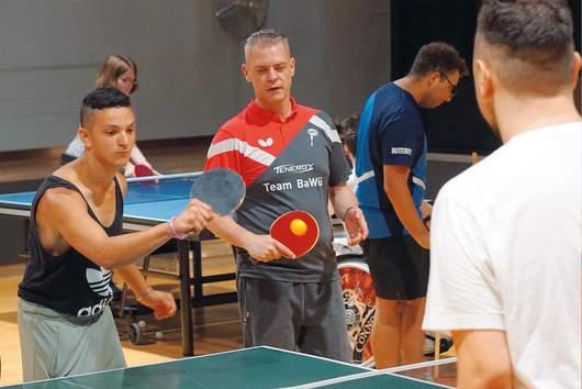 Tischtennis - Sporttag 2018 SRH Stephen-Hawking-Schule