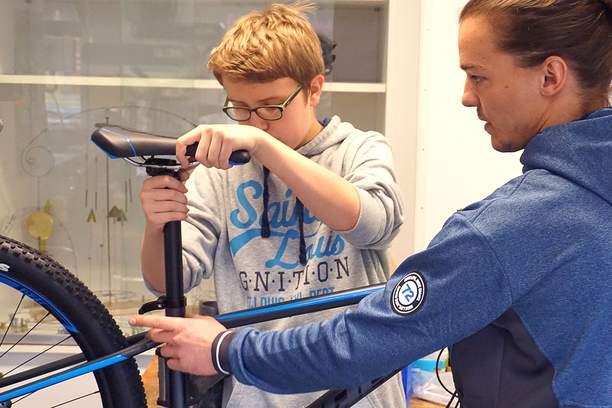 Sponsoring Rudis Radladen SRH Stephen-Hawking-Schule