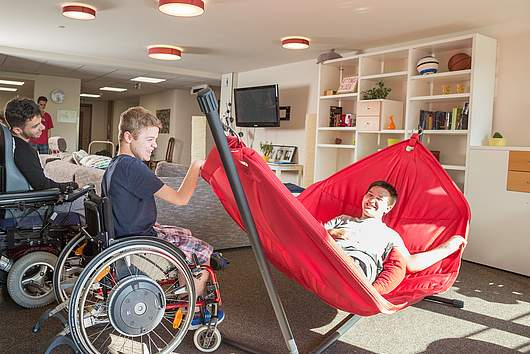 Leben im Internat: Freizeiträume - SRH Stephen-Hawking-Schule