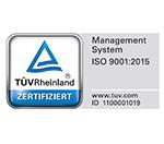 Logo TÜV Rheinland - SRH Stephen-Hawking-Schule